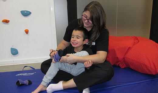 Terapia ocupacional con niños